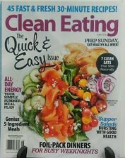 Clean Eating June 2016 The Quick & Easy Issue Supper Salads FREE SHIPPING sb