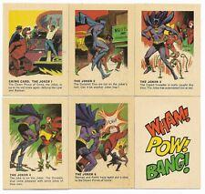 1966 Batman Weeties & Rice Krinkles The JOKER Set of 5 plus Bonus