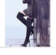 sam edelman berndette black thigh high boots Size 6 U.K. EUR 38