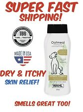 DOG SHAMPOO PET Dry Itching Irritated Skin Animal Health Supply Oatmeal 24 Oz