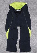 PEARL IZUMI Compression SELECT Cycling Shorts BLACK NEON YELLOW Padded Womens XS