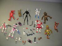 Five Nights at Freddy's Robot Clown BAF Ennard Jack-O-Chica lot Action Figures