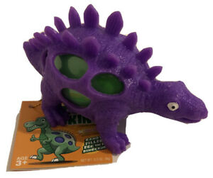 Dino Skinz Candy Filled Egg In Dinosaur Easter Purple And Green Toy
