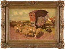 Abstrakte künstlerische Öl-Malerei mit Tier-Motiv als Original der Zeit