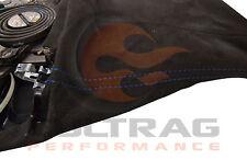 2005-2013 C6 Corvette Genuine GM Suede Parking Brake Boot Lever Blue Stitching