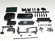 MUGE2021 Mugen Seiki MBX8 1/8 Buggy Rx Batterie Boîtes Servo Support Plaque W/