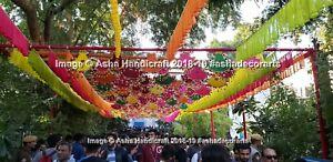 Ingrosso 20 PC Lotto Indiano Tradizionale Tema Matrimonio Decorativo Pankhi Spin
