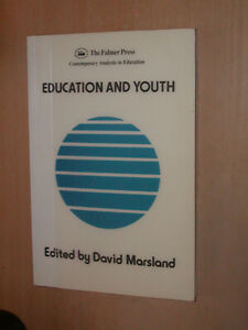 Education and Youth: David Marsland. NEW OLD STOCK