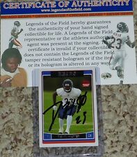 Chicago Bears Devin Hester Autographed 23 Signed 2006 Rookie Topps Card CHI12 RC
