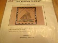 Ghosting Along (Bugeye Boat) Cross Stitch Kit 13.25x13.25 Inches