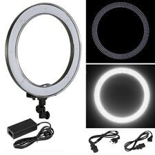 """Neewer 18"""" 55W 240pcs Dimmable Camera LED SMD Ring Light+Color Filter+US/EU PLUG"""