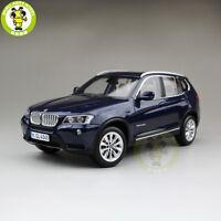 1/18 BMW X3 F25 xDrive 35i RMZ MODEL Diecast Model Car SUV Blue