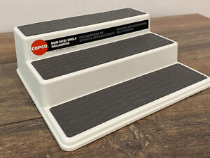"Kitchen Cabinet Spice Rack Non-Skid 3-Tier Pantry Organizer COPCO 10"" x 9"" x 3"""