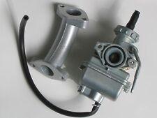 Carburetor & Intake Manifold for Honda XR75 XR80 XR80R C70 XL75 CT70 Scooter new