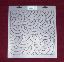 "10"" Echo Shell  Block Quilt Stencil (DAY64)"