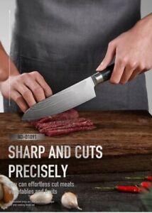 Küchenmesser, Professionelle Damastmesser aus Edelstahl