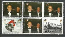Paraguay 1989 République d'Allemagne un bloc de 6 timbres neufs MNH /TR3380