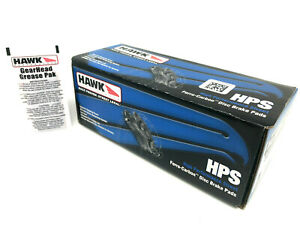 Hawk HPS Front Brake Pads Acura Integra Type R NSX CL Legend TL Prelude Accord