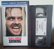 VHS FILM Ita Thriller SHINING nicholson stanley kubrick collection no dvd(VHS4)