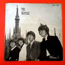 THE BEATLES (45 RPM-ITALY) QMSP 16381 - LONG TALL SALLY (TOP FIRST RARE COVER)