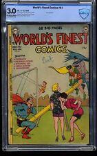 World's Finest Comics #61 CBCS GD/VG 3.0 Off White to White