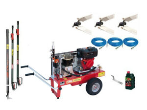 Kit olive 3 operatori Lisam LM998 Diesel avviamento elettrico 3 abbacchiatori