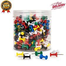 400 Pcs Betybedy Push Pins Multi Color Map Thumb Tacks Plastic Marking Pin Point