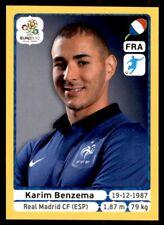 Panini Euro 2012 (Swiss Platinum Edition) Karim Benzema (France) No. 480
