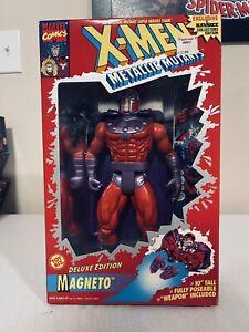 """X-Men Metallic Mutants HUGE Deluxe Edition, MAGNETO 10"""" Figure, New In Package"""