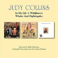 Judy Collins - In My Life/Wildflowers/Whales & Nightingales [New CD] UK - Import