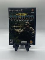 SOCOM 3: U.S. Navy SEALS PS2 Complete CIB Tested Sony PlayStation 2 Ps2 Game