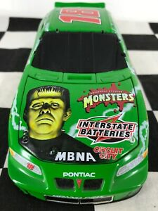 Action 1:24 Bobby Labonte #18 Monsters Frankenstein 2000 Pontiac Grand Prix Bank