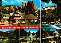 Bad Münster am Stein Ebernburg , Ansichtskarte , ungelaufen