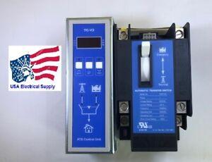 TCS2P125-22M Automatic Transfer Switch 2 Pole 125 Amp.