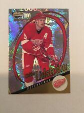 1999-00 Revolution Red Wings Hockey Card #53 Nicklas Lidstrom