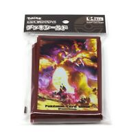 Pokemon Center Japanese Mega Charizard 64 Card Shield Deck Sleeves