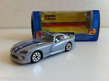 B Burago - Dodge Viper GTS Coupé grise (1/43)
