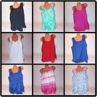 Faded Glory Womens Tank Top Solid Blouse Shirt Sleeveless NEW