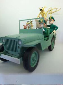 """Spirou et Fantasio - Le Garage de Franquin  """" Jeep Wyllis MB """""""
