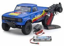 Kyosho # 34361T2B Outlaw Rampage 1-10 EP 2WD Truck KT231P T2 Bleu RTR