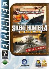 SILENT HUNTER 4 GOLD + ADDON U-BOAT MISSIONS UBOOT *Neuwertig