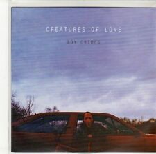 (ED609) Creatures Of Love, Boy Crimes EP - 2012 DJ CD