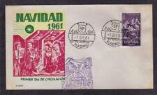 Spain - Navidad 1961 - FDC 1961 - Alonso Cachet