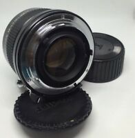 VIVITAR 75-205mm MC 2X Matched Multiplier Nikon fits FA, FE, FM, F2, F3 ETC P157