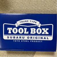SUBARU TOYO Original Trunk Tool Box Blue novelty Not for Sale Limited  Japan F/S