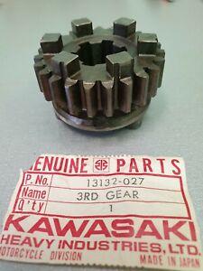 Kawasaki 400 S3 / S1 250 - KH250 Kawasaki 13132-027 Drive Shaft 3rd Gear