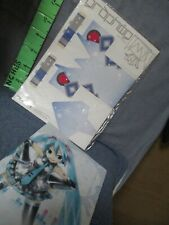 Vocaloid Hatsune Miku Japan Anime Folder Winter Punch Out Squarehead Paper Doll