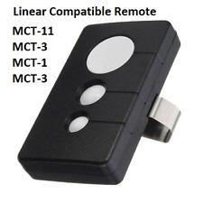 MCT-3 Linear Mega Code 3-Button Garage Door Opener Remote DNT00089 LD033 LD050