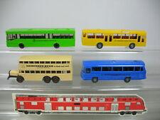 AE184-0,5# Wiking H0 Set Mercedes-Benz MB Omnibusse Stadt und Land, sehr gut
