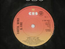 "EARTH, WIND & FIRE -Can't Let Go- 7"" 45"